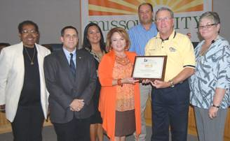 "FW: Missouri City Honored As ""Employer of the Year"""