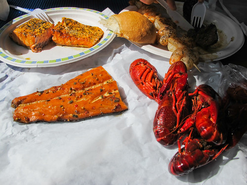 Seafood Lunch - Bergen, Norway
