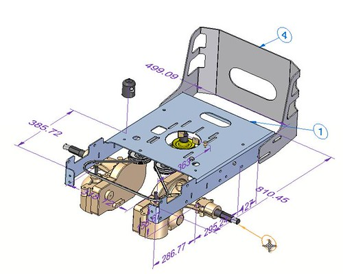 Solid Edge ST3 Assembly Parts List