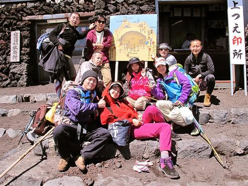 Mount Fuji 7/21~22