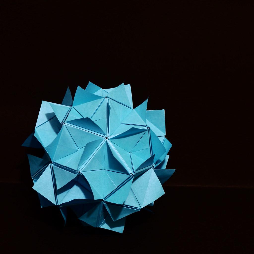 The World's Best Photos of icosahedron and kusudama ... - photo#23