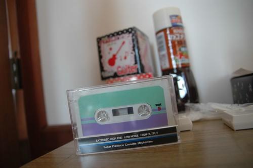 カセットテープ。