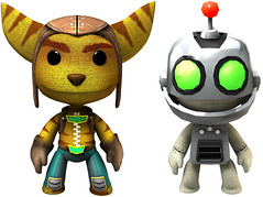 Ratchet & Clank in LittleBigPlanet 2