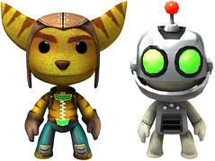 Ratchet & Clank in LittleBigPlanet 2