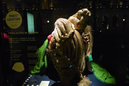 Vitrines Paris & Création - Galeries Lafayette - Paris, juillet 2010