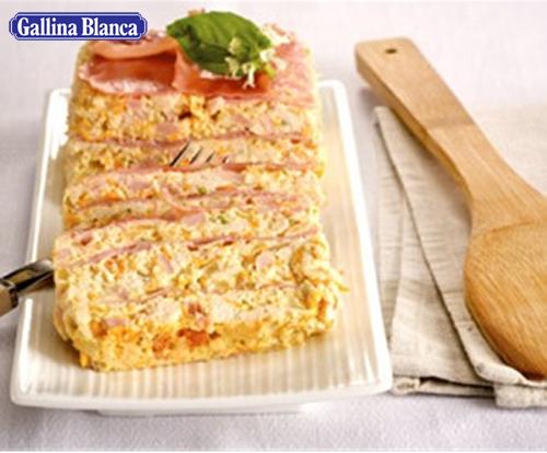 Ablama de pollo al arroz con fideos