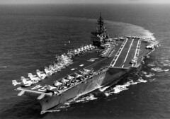 Constellation CV64 (San Diego Air & Space Museum Archives) Tags: history aircraft military ships navy naval carrier constellation cv64 cva64 sdasm ships01017