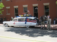 Ghostbusters and Ectomobile