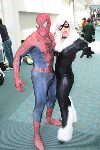 Black Cat And Spiderman A Photo On Flickriver