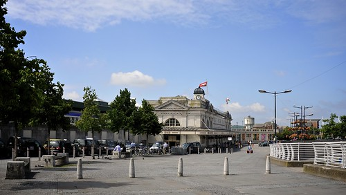 Cardiff Central Station From The East