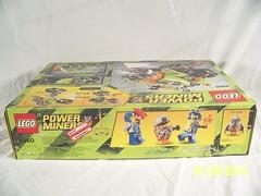 LEGO Power Miners - Thunder Driller - 8960 #3 (JTKranix) Tags: lego space thunder miners driller 8960 kranix firox