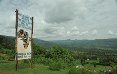 1a. On the wat to Nyahururu, fertile Rift Valley