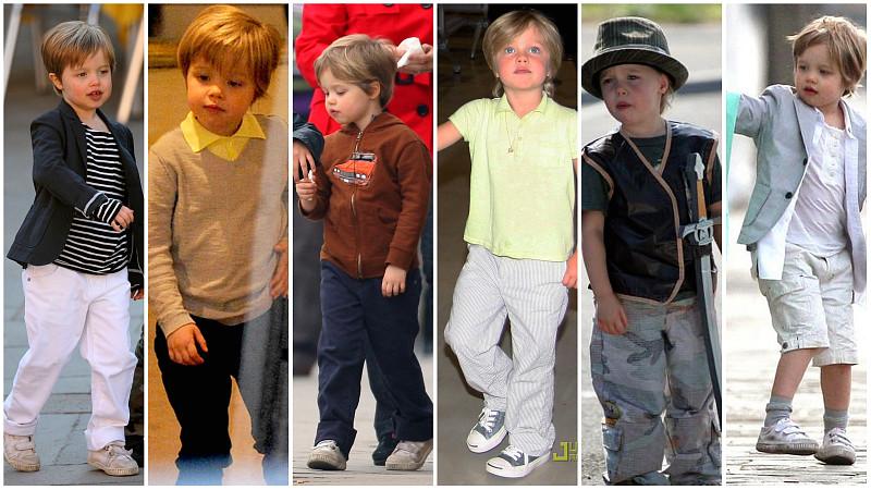 Shiloh Jolie Pitt erkek gibi giyinmeyi seviyor
