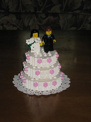 Wedding Gift (Blake Foster) Tags: wedding cake groom bride lego foitsop