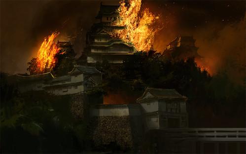 Fiery Castle