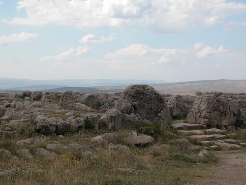 DSCN0895 Hattusas, temple, entrée