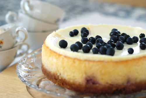 mustika-toorjuustukook/blueberry cheesecake