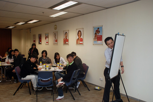 Caricature Workshop for AIA Robinson - Day 5 - 4