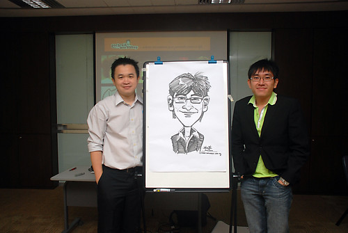 Caricature Workshop for AIA Robinson - Day 5 - 15