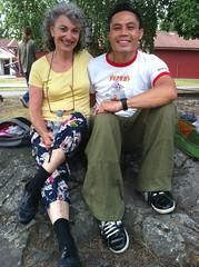 Me with Judy Pritchett in Herrang