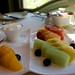 Assorted Fruit Plate with Vanilla-Infused Sheep Milk Yogurt
