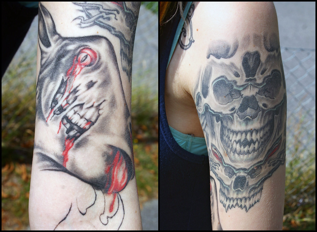 Tattoo Diptych