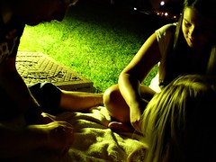 Summer nights (Garabatera) Tags: madrid park parque summer night noche verano summertime