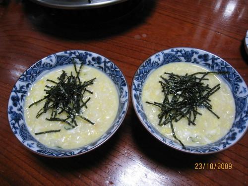 札幌_螃蟹本家_美味的粥