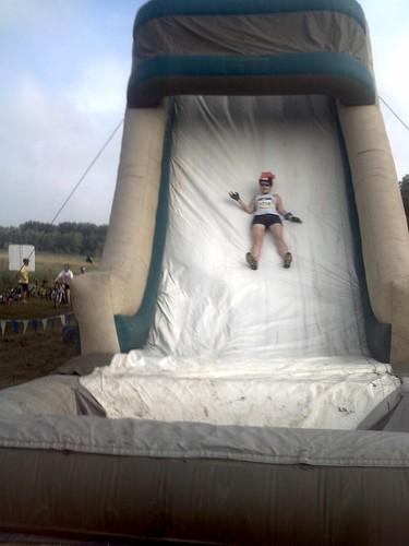 Erica on slide