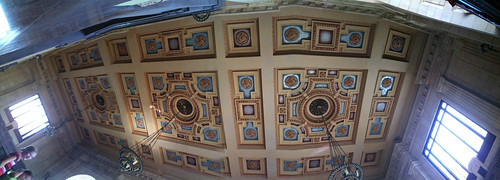 Ceiling of Union Station in Kansas City