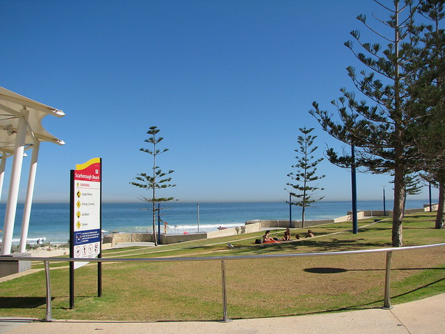 GV Perth Beach