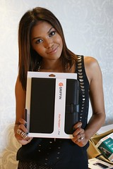 Amerie with Elan Passport for iPad