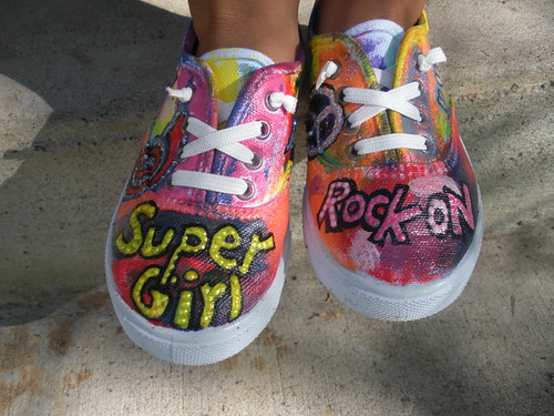 Ruby's Painted Shoes