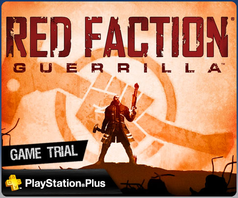 Red Faction Guerilla for PS3: PlayStation Plus game trial