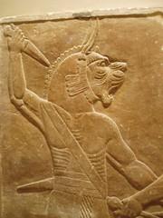 Lion Demon (Aidan McRae Thomson) Tags: sculpture london iraq palace relief britishmuseum mesopotamia assyrian nimrud