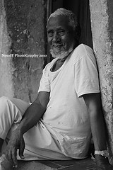 """    "" [EXPLORED] ( Anoud Abdullah AlHabib) Tags: life street old white man black canon eos al all right oud reserved  500d"