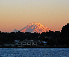 The mountain (WorldofArun) Tags: ocean seattle sunset summer beach silhouette relax volcano evening harbor washington twilight nikon downtown pacific dusk july streetscene mountrainier cascades alkibeach wa pugetsound elliottbay jog mountbaker 2010 themountain cindercone cascaderange olympicmountains stratovolcano icecap lavadome seattledowntown 18200mm alkipoint shieldvolcano cascadevolcanoes pacificringoffire nikond40x yenumula cascadevolcanicarc worldofarun northadmiral cascadearc arunyenumula