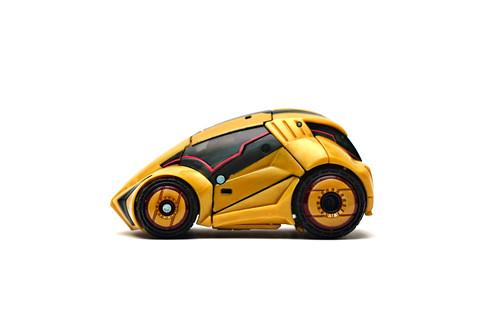Bumblebee - Cybertronian courier mode