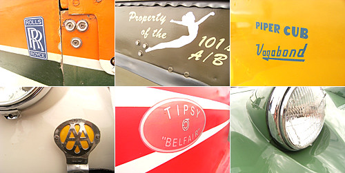 vintage planes & cars
