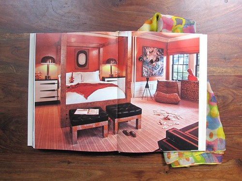 KELLY WEARSTLER HUE BEDROOM RED