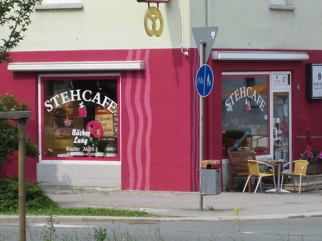 Stehcafe in Hof