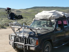 High & Wide (FilmCrewTech) Tags: gaffer grip filmproduction rigging tvproduction downstream cameracar keygrip redcamera hoodmount camerarigging allinonetruck kellyherrin filmcrewtech