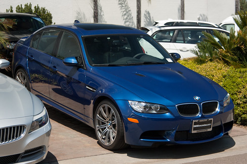 The fourth generation BMW M3