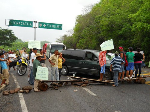 Tenacatita Protest - August 5, 2010