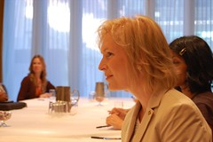 Kirsten Gillibrand Meets With Women Bloggers