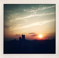 Today (otarako☺︎) Tags: sunset today 夕暮れ iphone 車窓 日が沈むのが早くなったですね 窓の汚れがー