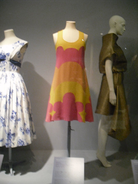 Sixties V&A dress