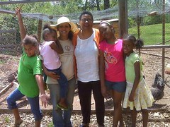 residents of Pisgah View Community Peace Garden, Asheville, NC (courtesy of PVCPG)
