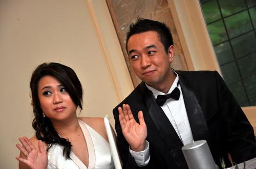 Minh and Cheryl