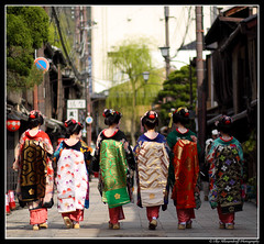 Maiko's Walking Away (Ilko Allexandroff (a.k.a. sir_sky)) Tags: light portrait people woman slr art girl fashion festival japan umbrella canon dark hair photography japanese google women kyoto emotion feminine traditional flash models places explore geiko kobe geisha portraiture   osaka kimono gion dslr   grouppicture maikosan  kawaramachi   naniwa ilko   50d  kyotoprefecture   strobist kyotoshi canon50d   peoplegroups beautyshoots photographytypes othercontactsjp uyangabattogotkh itemsthings beligeesharov buyanaassister dorjbuyana nadyanyam purevdorjbolorsuvd dorjbuyana allexandroff  imghp